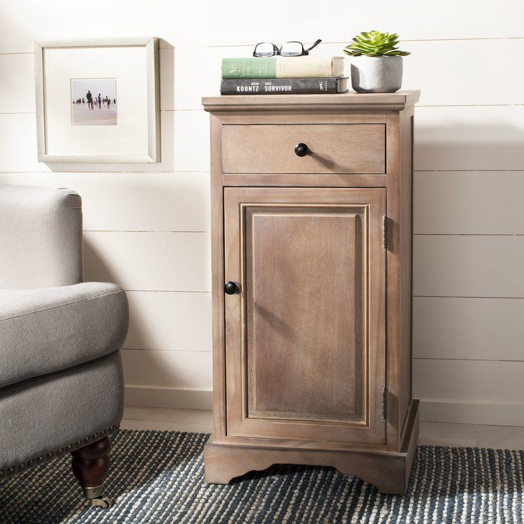 Martine 1 Drawer 1 Door Accent Cabinet Accent Cabinet Accent Doors White Storage Cabinets