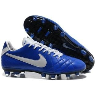 Nike Tiempo Legend IV Elite FG Firm Ground Soccer Cleats Blue and White,  cheap Nike Tiempo Legend Elite FG, If you want to look Nike Tiempo Legend  IV Elite ...