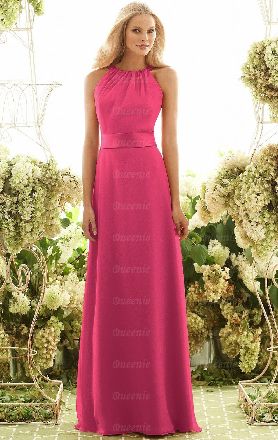 Cheap Fuchsia Bridesmaid Dress BNNAH0027-Bridesmaid UK | All Things ...