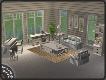 Around The Sims 2 | Objects | Living Room | Beach House
