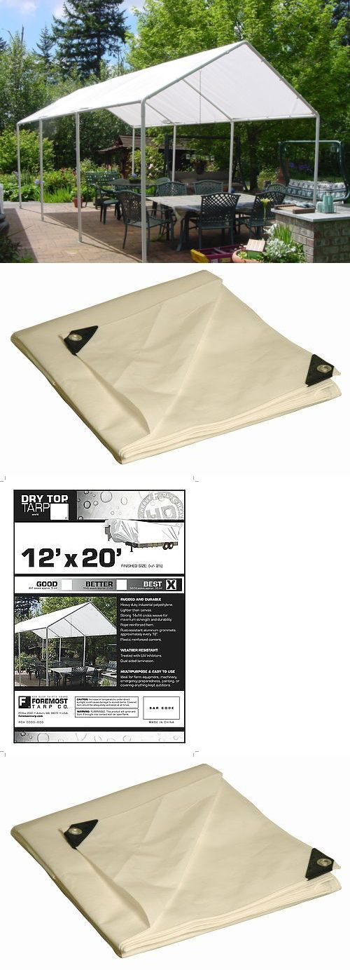 Other Structures and Shade 177026 Dry Top 12X20 Ft Canopy Cover Poly Tarp 312201 By & Other Structures and Shade 177026: Dry Top 12X20 Ft Canopy Cover ...