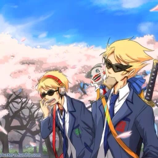 And another reason there should be a legit homestuck anime: Striders in uniforms.