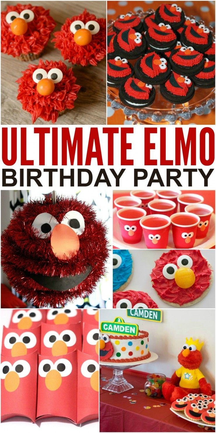 How To Throw The Ultimate Elmo Birthday Party Please Any Toddler On Their Toddlers And Preschoolers Love So An Themed