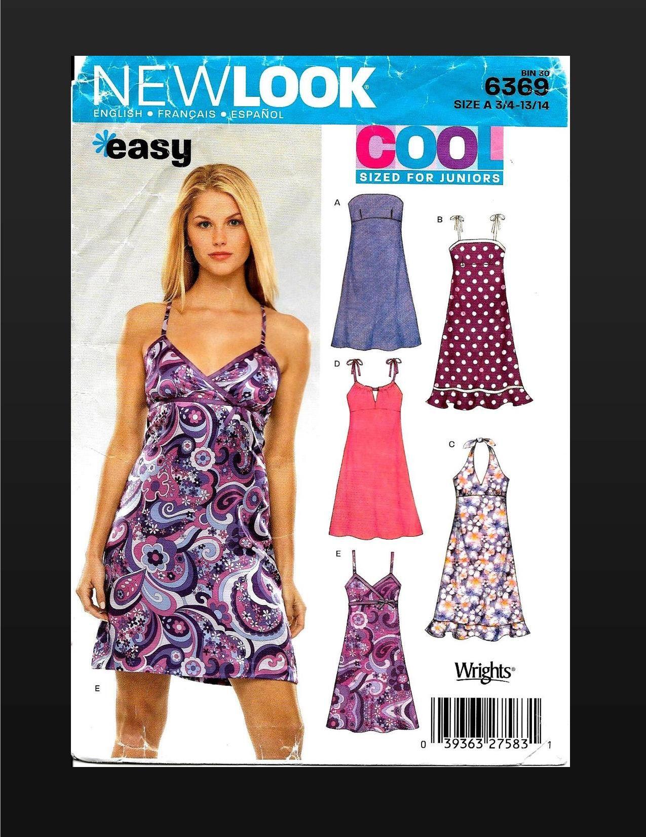 Pin On New Look Dress Pattern Easy [ 1650 x 1275 Pixel ]