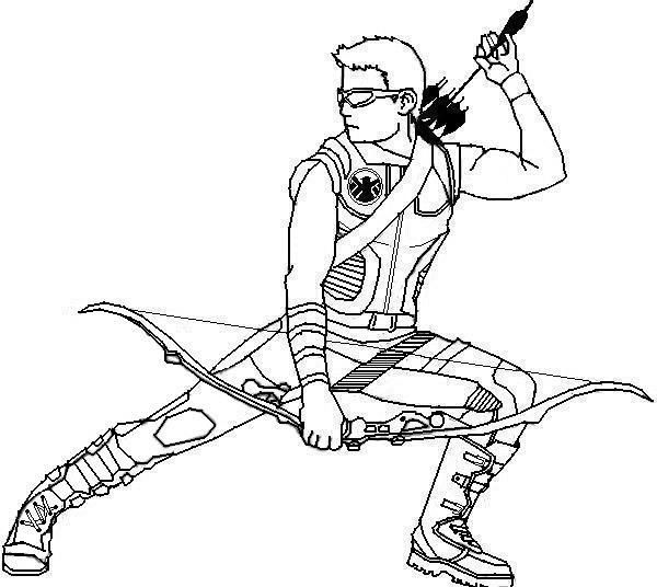Hawkeye Coloring Pages Hawkeye Coloring Pages Coloringpages Coloring Coloringbook Colou Avengers Coloring Avengers Coloring Pages Superhero Coloring Pages