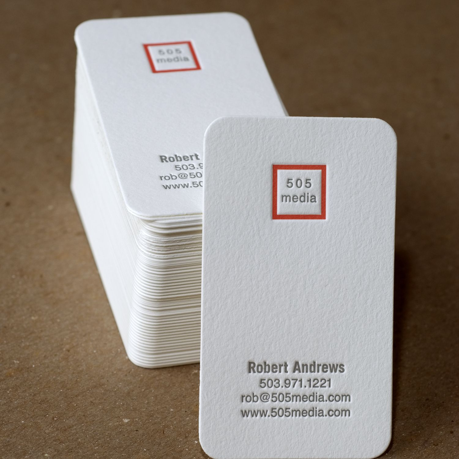 Modern Square Personalized Calling Cards by Ruby Press ::: www ...