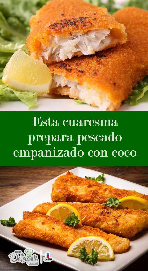 Esta cuaresma prepara pescado empanizado con coco | Pinterest | Coco ...