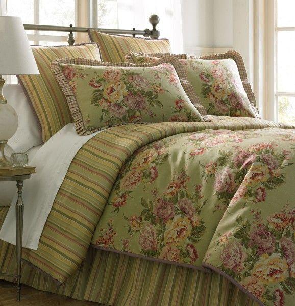 The Santa Rosa comforter set. So warm :)