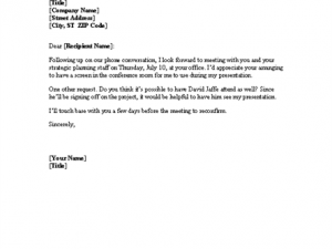 Meeting confirmation letter template certificate templates meeting confirmation letter template pronofoot35fo Image collections