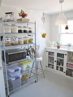 Ikea Metal Shelving Kitchen Google Search