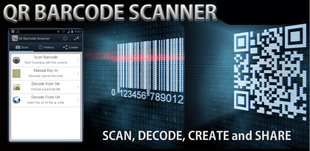 QR BARCODE SCANNER APK | downloada2z | Qr barcode, Digital marketing