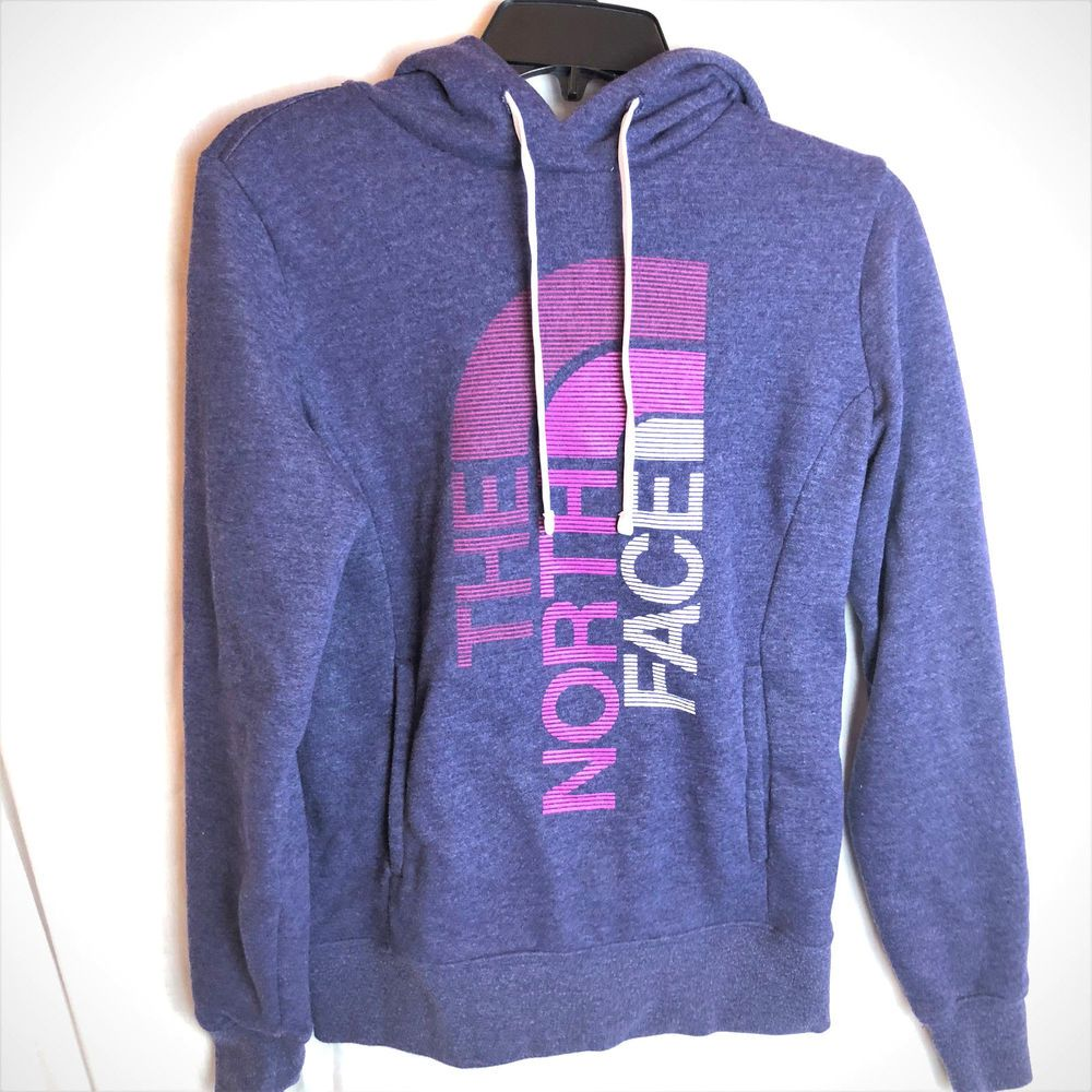 7c505c8eb The North Face XS Womens Trivert Pullover Hoodie Purple ...