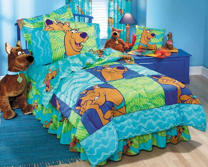 Scooby Doo Bedding Set Twin | Tyres2c