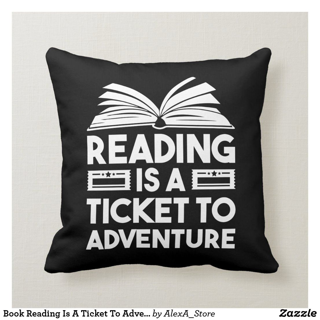 Book Reading Is A Ticket To Adventure Clothing Men Throw ...