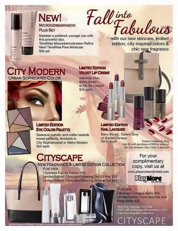 Fall Into Fabulous!! Be the first to order & receive a gift with any amount!  www.marykay.com/ksoutherland