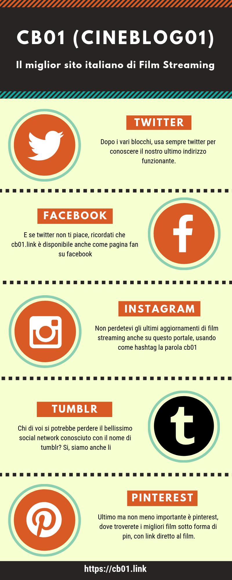 Cb01 Nuovo Indirizzo Del 2019 Twitter Instagram Facebook