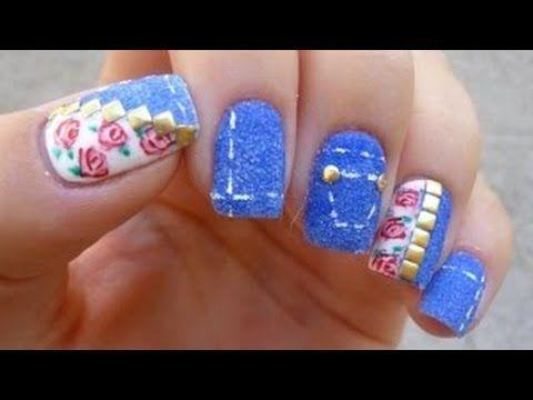 طريقة وضع مناكير سهل و سريع للأظافر القصيره Nails Nail Art Nails Hand Art