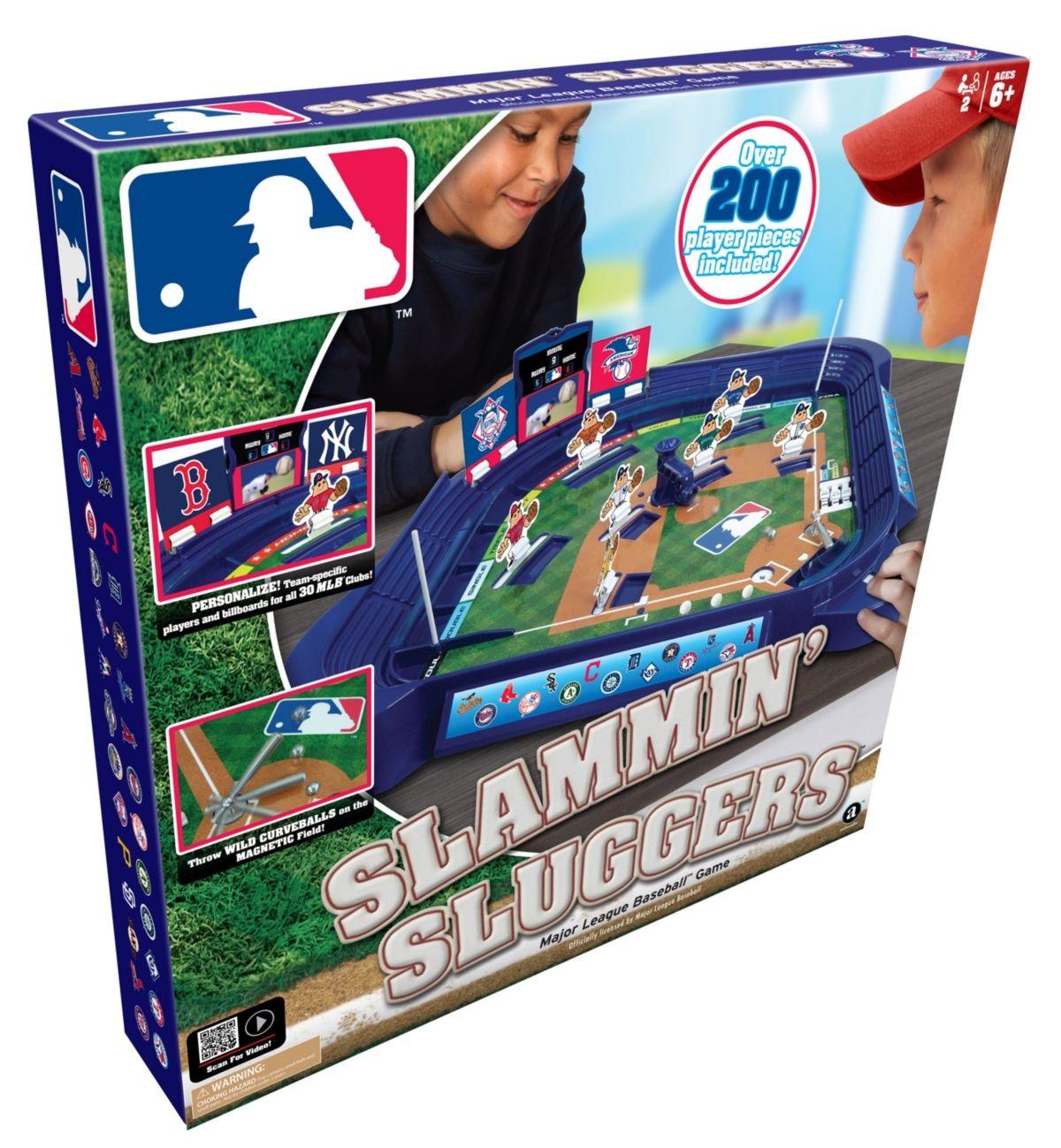 Mlb Slammin Sluggers Baseball Game Baseball Games Slugger Baseball Room