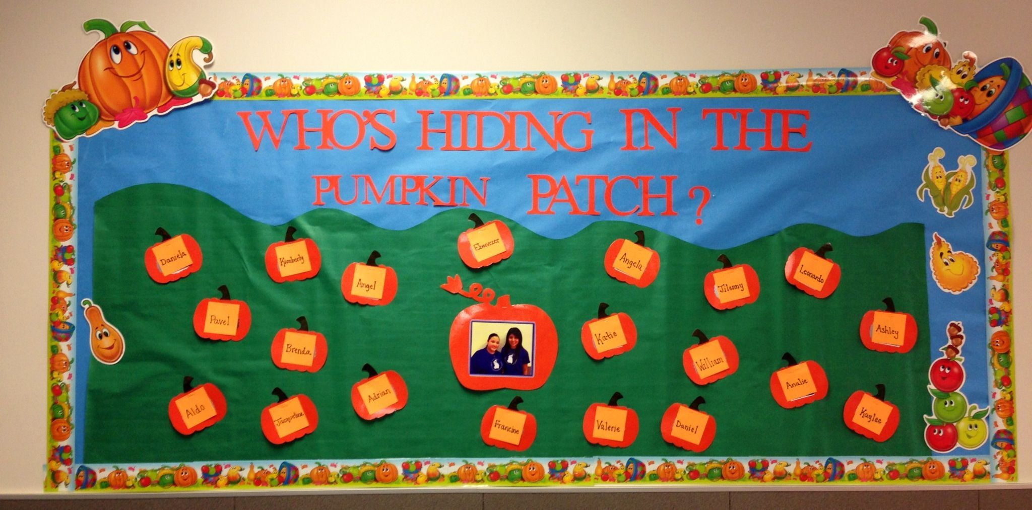 Fall pumpkin bulletin board #pumpkinpatchbulletinboard Fall pumpkin bulletin board #pumpkinpatchbulletinboard