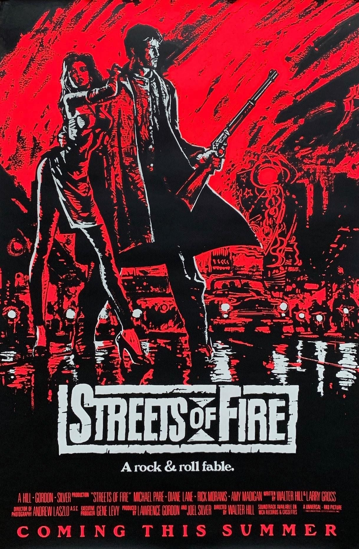 Streets of Fire 10word reviews【2020】 映画, シネマ, ダイアン