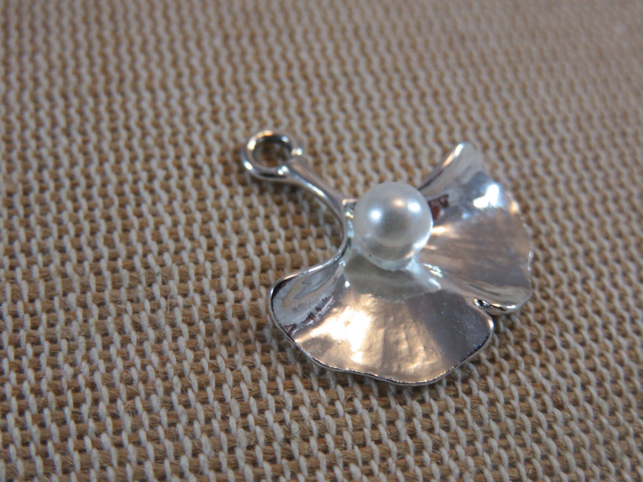 10 X Violet Métallique Acrylique Perles Fabrication de Bijoux Artisanat