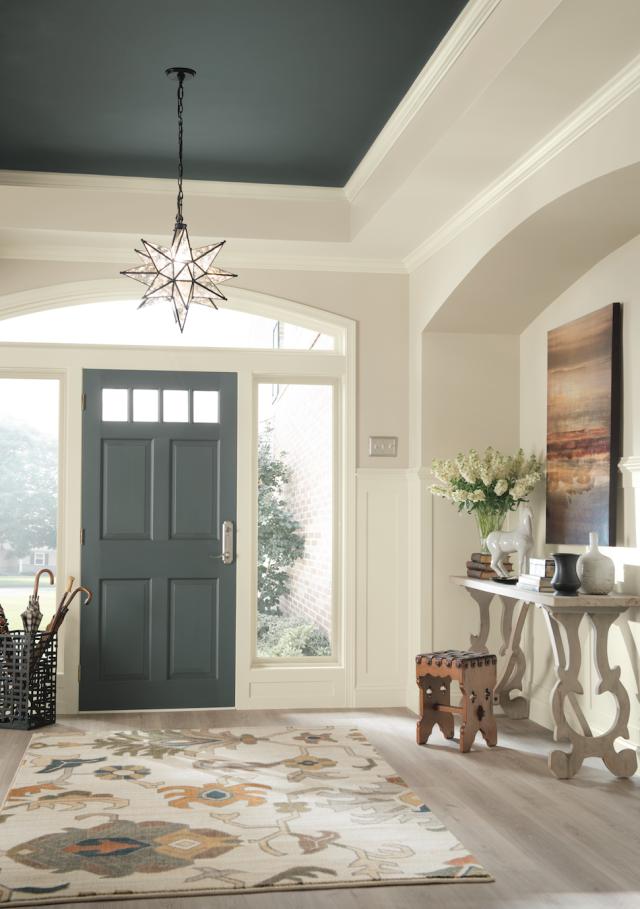 Dramatic Sherwin Williams Nouveau Narrative Palette Foyer Colors