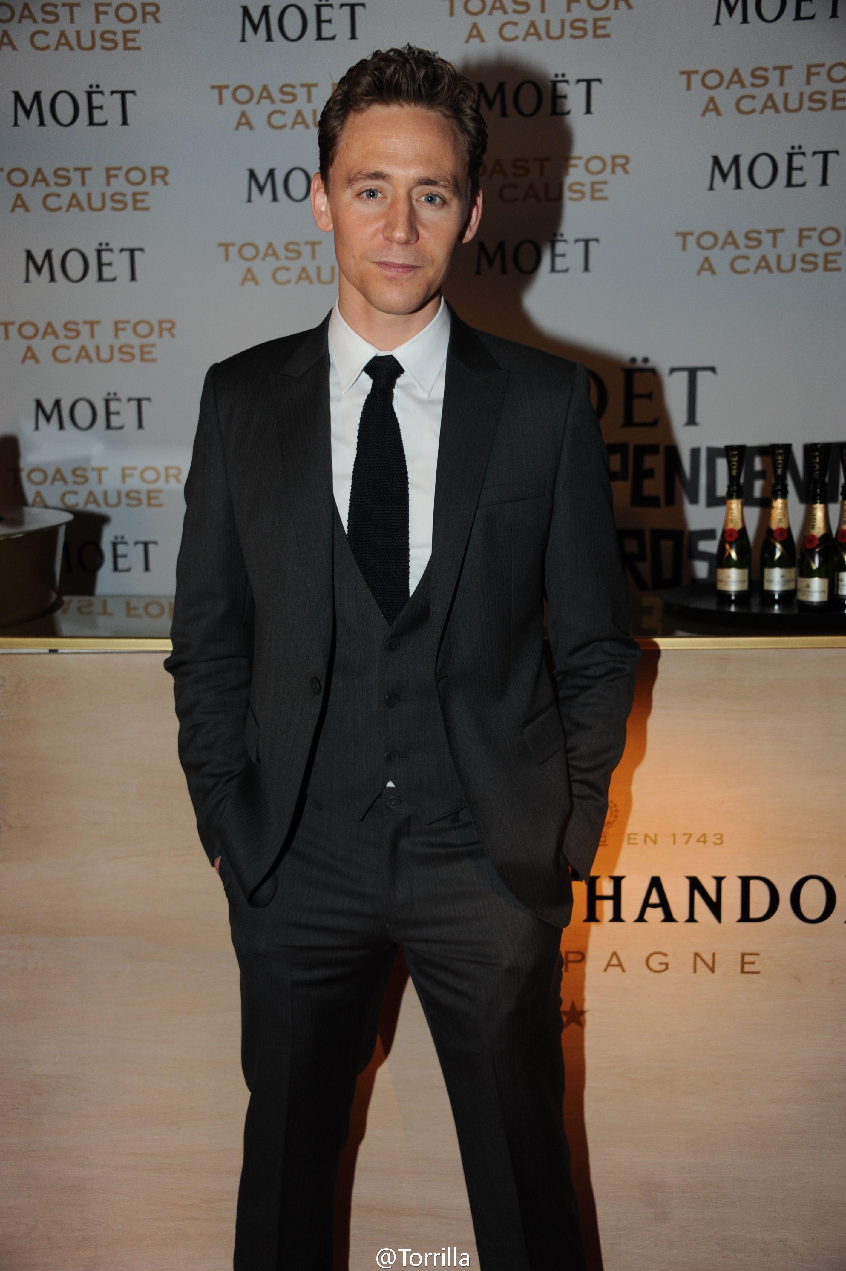 Tom Hiddleston. #MBIFA 2012
