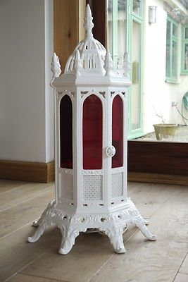 Beautiful Victorian Cast Iron Cathedral Heater Ebay