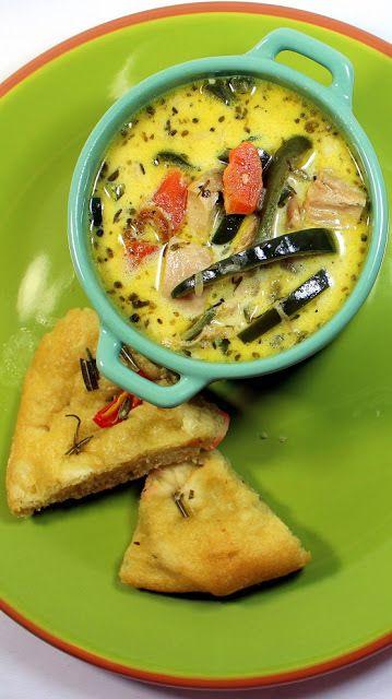 Rotisserie Chicken Vegetable Soup
