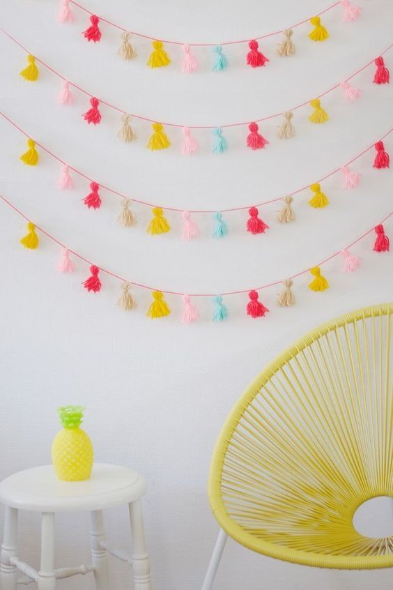 9 Ways to Make Your Home Feel Like a Party (for Less than $25) -   22 home decor for cheap diy wall art ideas