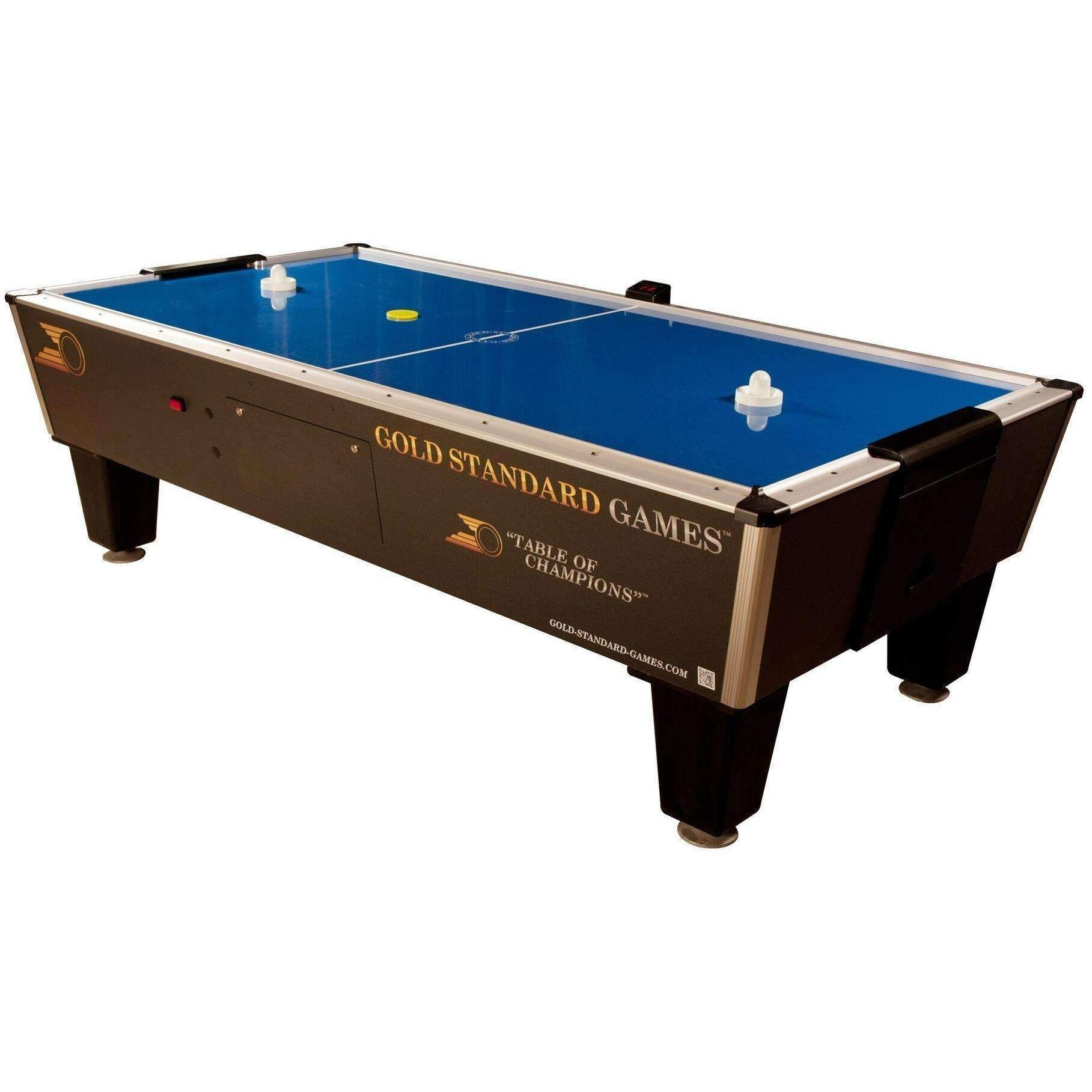 Gold Standard Games Classic Pro Player Air Hockey Table Coin - Classic air hockey table