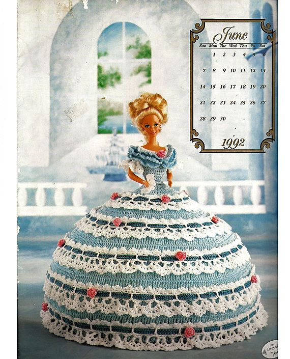 The Cotillion Collection Miss June 1992 Fashion Doll Crochet Pattern ...