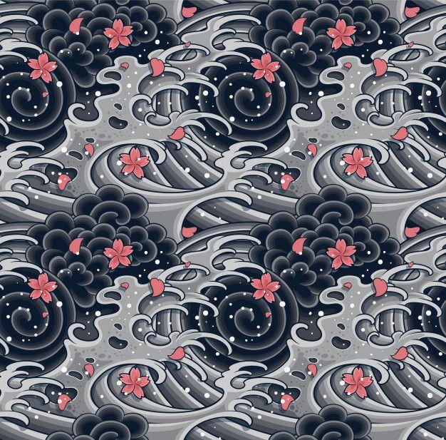 Oriental Patterns Illustration Set.editable. in 2020 ...
