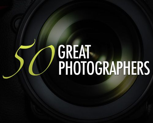 50 Great Photographers You Should Know (with portfolios)