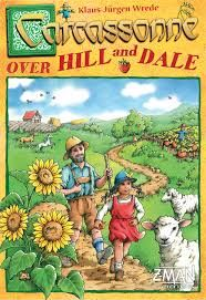 Carcassonne: Over Hill & Dale board game offers players the