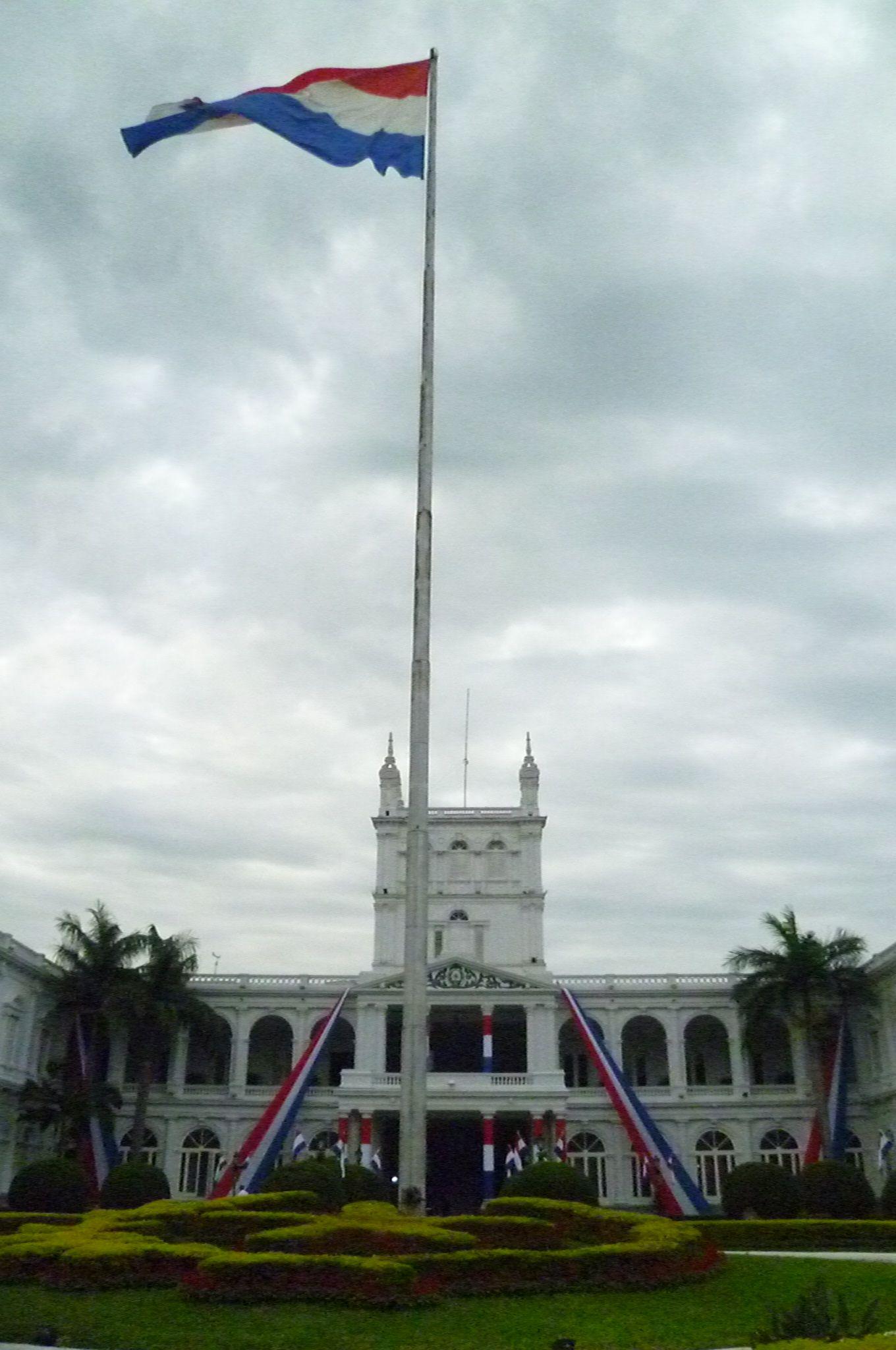 Bandera Paraguay Paraguay Ciudad De Asuncion Antigua Y Barbuda