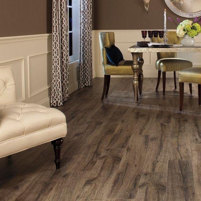 "Reclaime 8"" X 54"" X 12mm Oak Laminate Flooring"