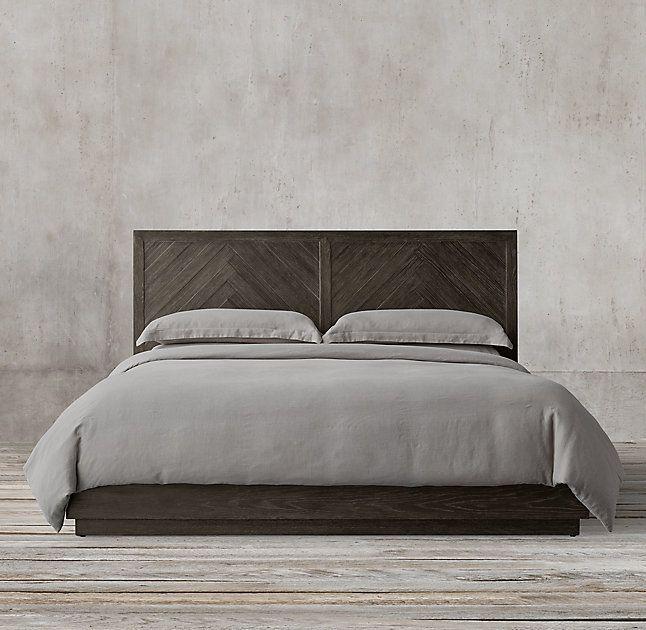 Platform Bed Master Bedroom Plans, Brillaney Queen Panel Bed With Lights