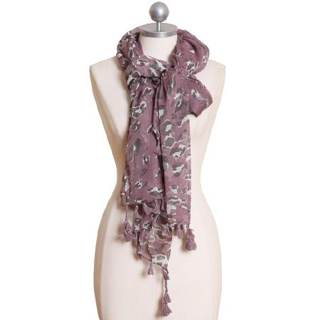 violet reflections scarf