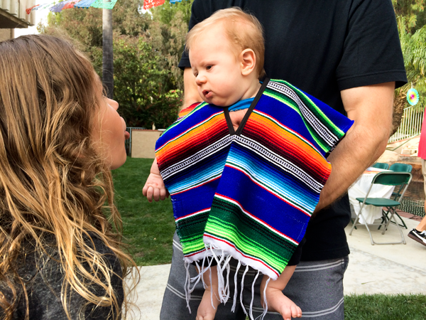 Baby Poncho for Cinco de Mayo | Cinco De Mayo | Baby poncho