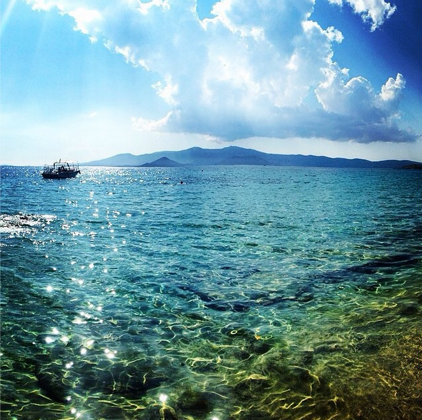 Can't get over that Greek blue. http://instagram.com/cyathens