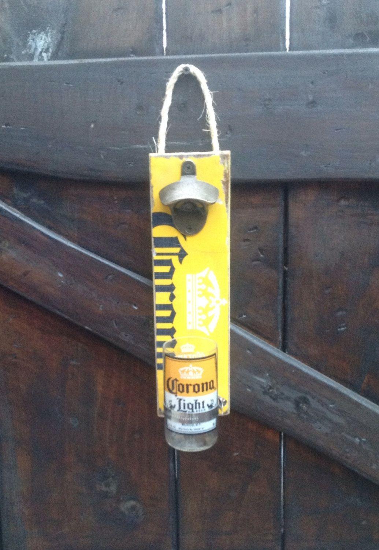 Corona Light Beer Bottle Wall Opener Corona Light Beer Corona Light Bottle Wall
