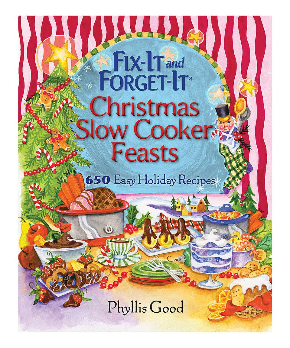 Loving this Fix-It and Forget-It Christmas Slow Cooker Feasts Cookbook on #zulily! #zulilyfinds