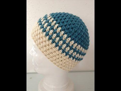 Häkeln - Mütze aus ONline-Wolle - Cora - YouTube | Wolle | Pinterest ...