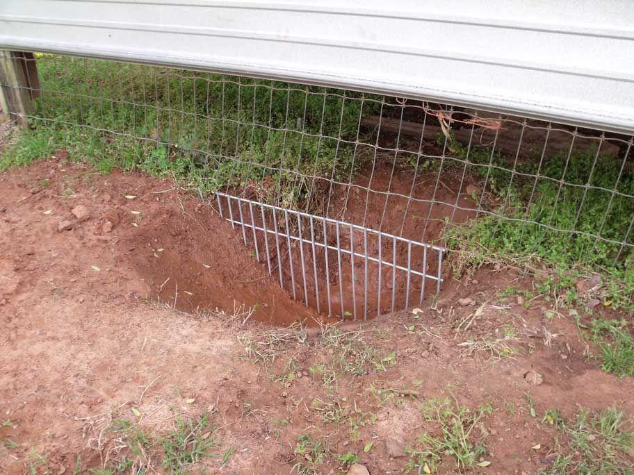 Dig defence xl qty 5 dog proof fence pet barrier dog yard