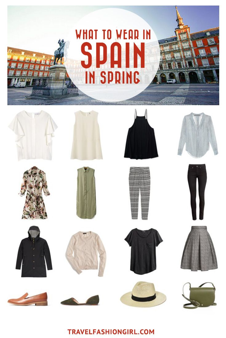 9bb37f89417 Use this comprehensive packing guide to help you pack stylishly light for  destinations like Madrid
