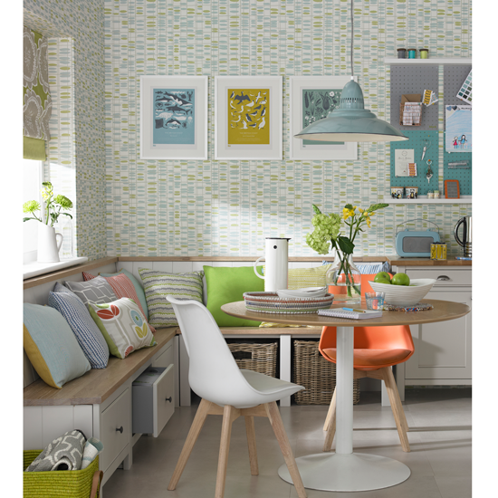 Dining Room Corner Decorating Ideas Space Saving Solutions: Clear The Clutter- Easy To Live With Storage Solutions