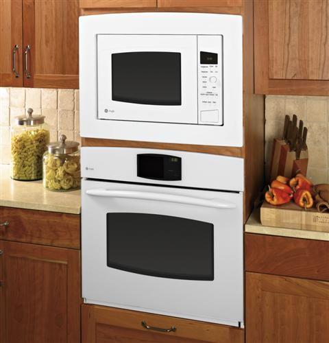 Ge Profile Series 1 5 Cu Ft Countertop Convection Microwave Oven Peb1590dmww Ge Microwave Microwave Oven