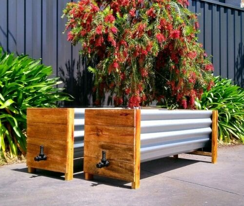1.5m Planter Boxes Self-Watering Wicking Raised Garden
