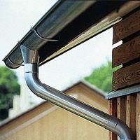 Galvanized Steel Guttering Google Search Gutters Craftsman Exterior Modern Farmhouse Exterior